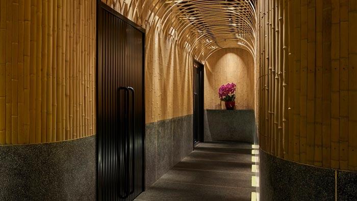 日料餐厅入口装修设计效果图
