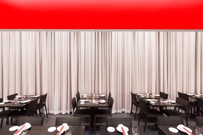 寿司餐厅餐区装修设计效果图