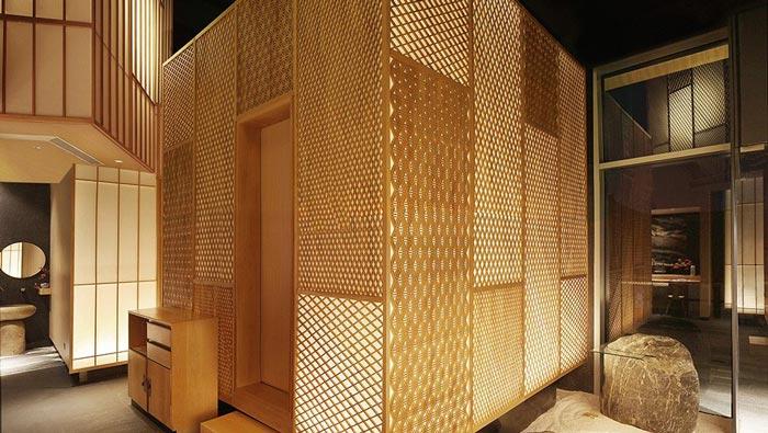 寿司料理店中厅装修设计效果图