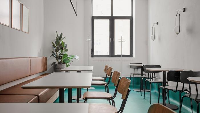 小饭馆餐区装修设计效果图