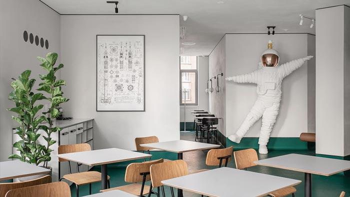 小饭馆过道装修设计效果图