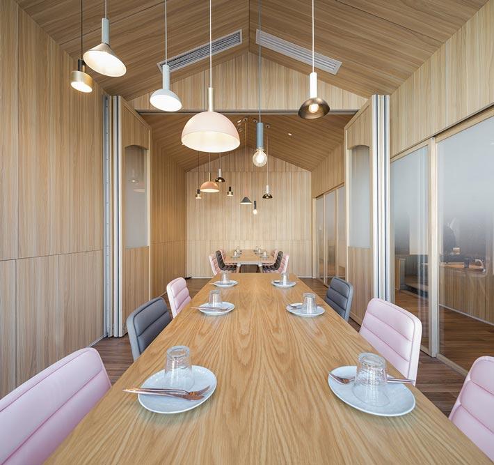 亲子餐厅餐区装修设计效果图