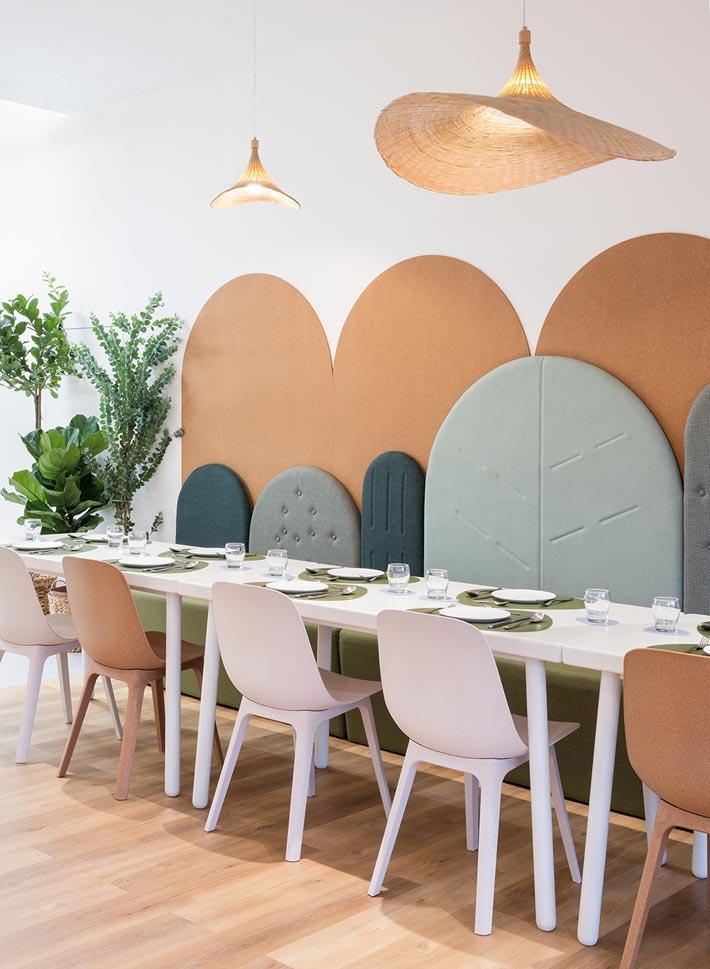 720㎡亲子餐厅餐区装修设计效果图