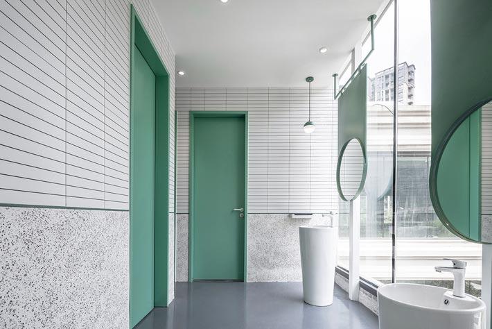 亲子餐厅卫生间设计装修效果图