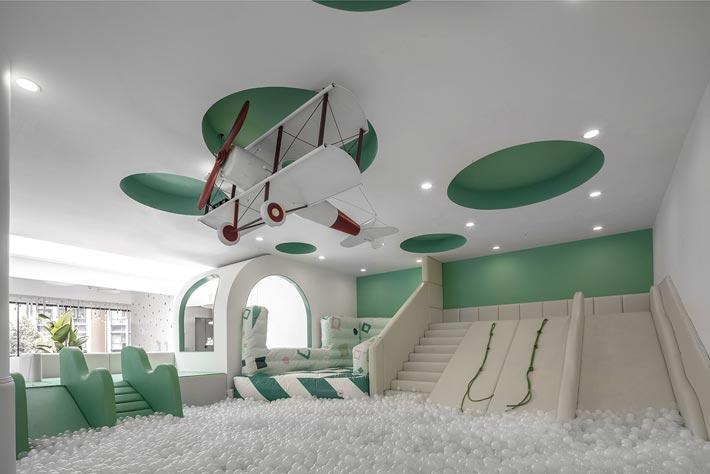 亲子餐厅游戏设计装修效果图