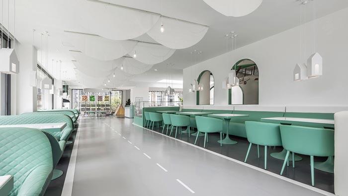 亲子餐厅设计餐区装修效果图