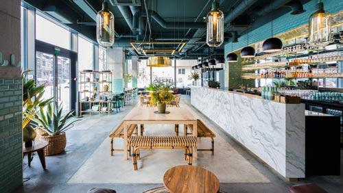 美食餐厅+酒吧设计【150平方】