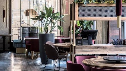 美食餐厅设计【500平方】