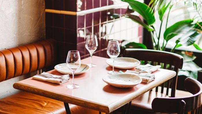 西餐厅+酒吧餐区装修设计效果图
