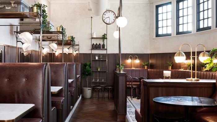 酒吧餐厅功能区改造装修设计效果图