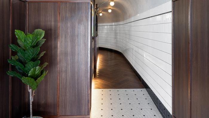 酒吧餐厅入口改造装修设计效果图