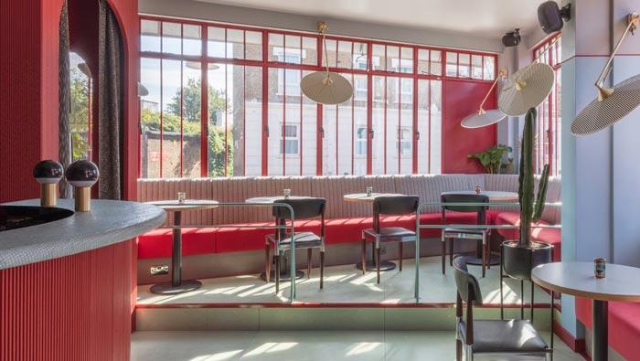 景区酒吧餐厅过道装修设计效果图