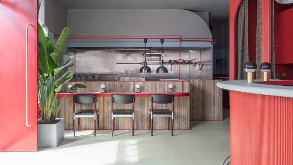 景区酒吧餐厅设计【200平方】