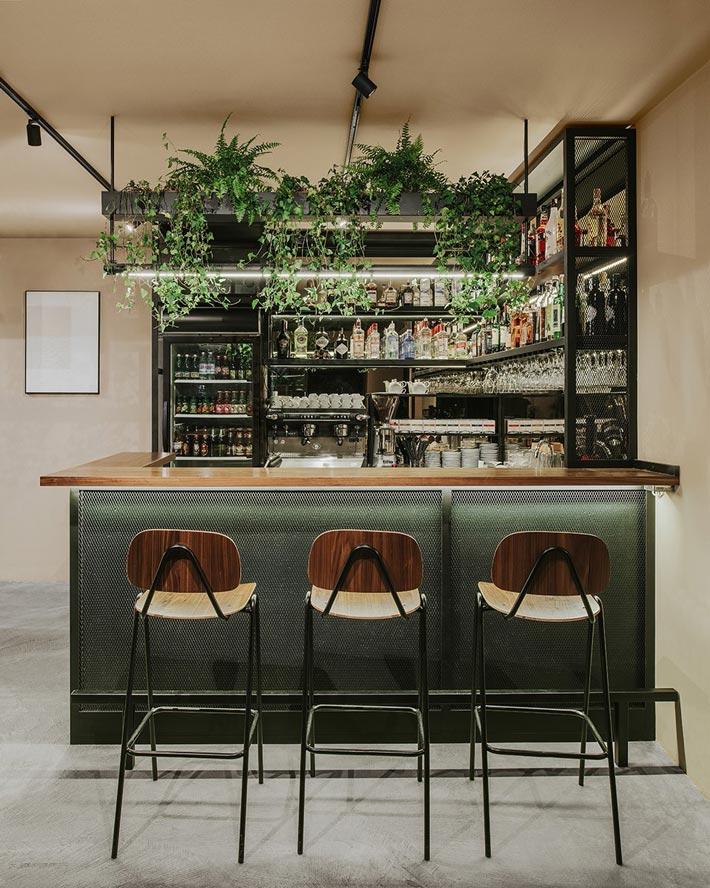 社区酒吧餐厅吧台装修设计效果图