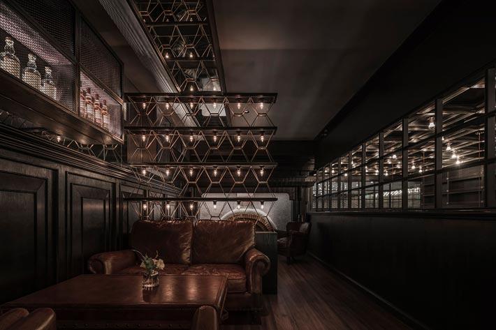 商场酒吧餐厅二楼装修设计效果图