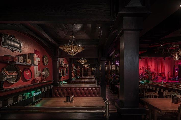 商场酒吧餐厅啤酒吧装修设计效果图