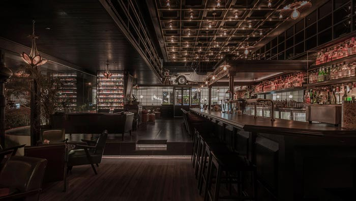 商场酒吧餐厅酒吧装修设计效果图