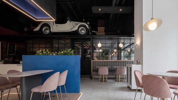 商场酒吧餐厅设计【600平方】