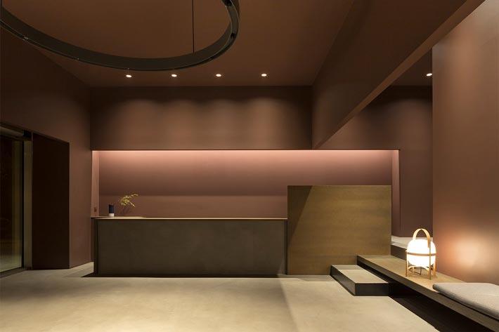 中式办公室装修设计效果图