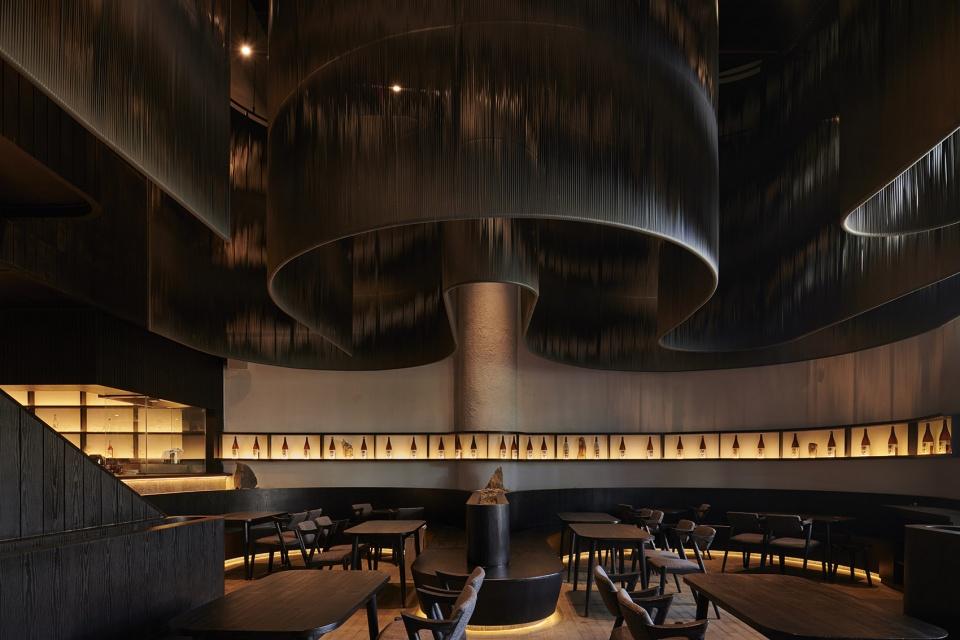 艺术日式餐厅设计【220平方】